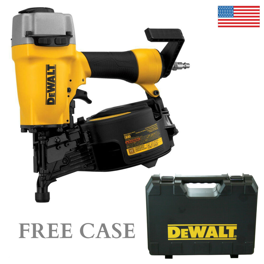 Dewalt Dw66c 1 15 Degree Coil Siding Nailer 1 1 4 To 2 1 2