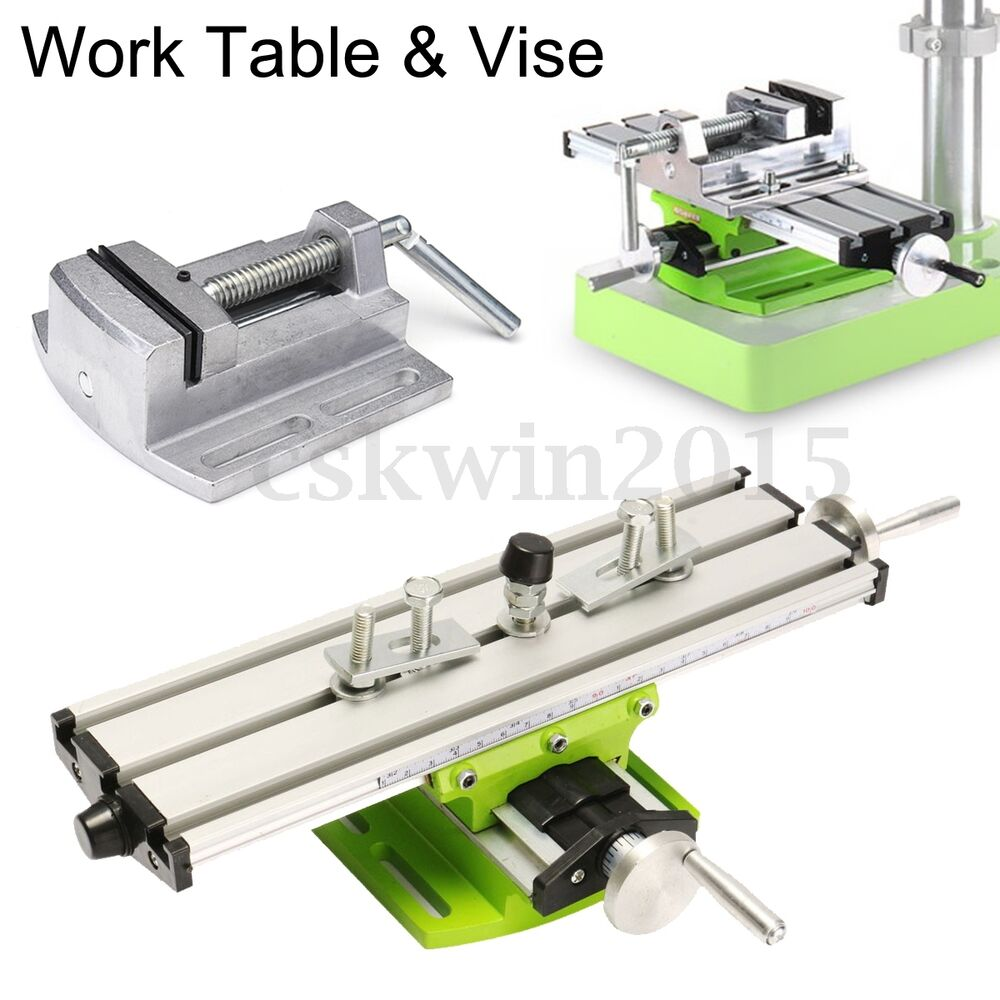 Milling Machine Compound Work Table Cross Slide Bench