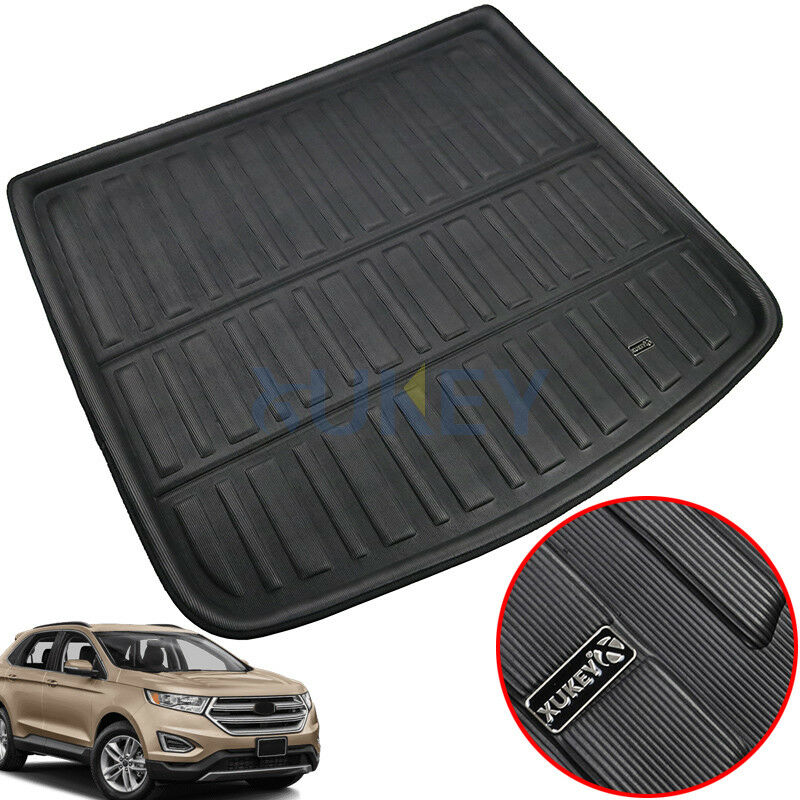 Rear Trunk Cargo Mat Boot Liner Floor Tray Carpet For Ford ...