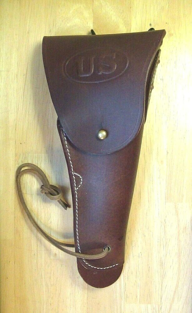 WWII Model 1916 Leather Holster for Colt M1911 .45 pistol ...
