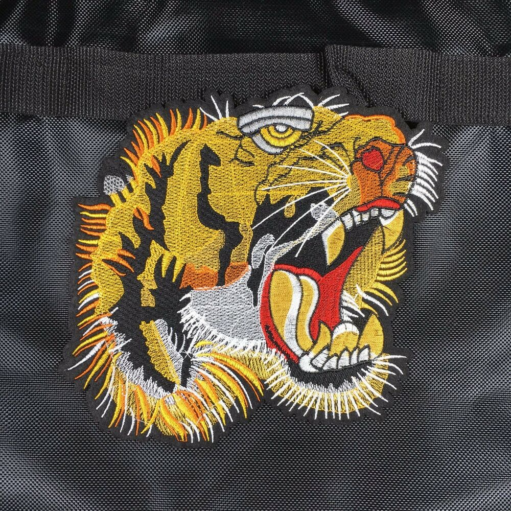 95f4b06e80a Details about tiger head patch embroidered patch iron on patch sew on patch  gucci