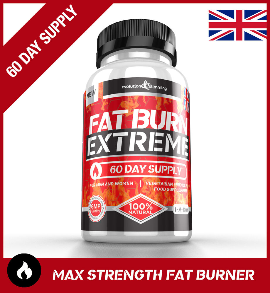 FAT BURN EXTREME Weight Loss Diet Pills STRONGEST Legal ...