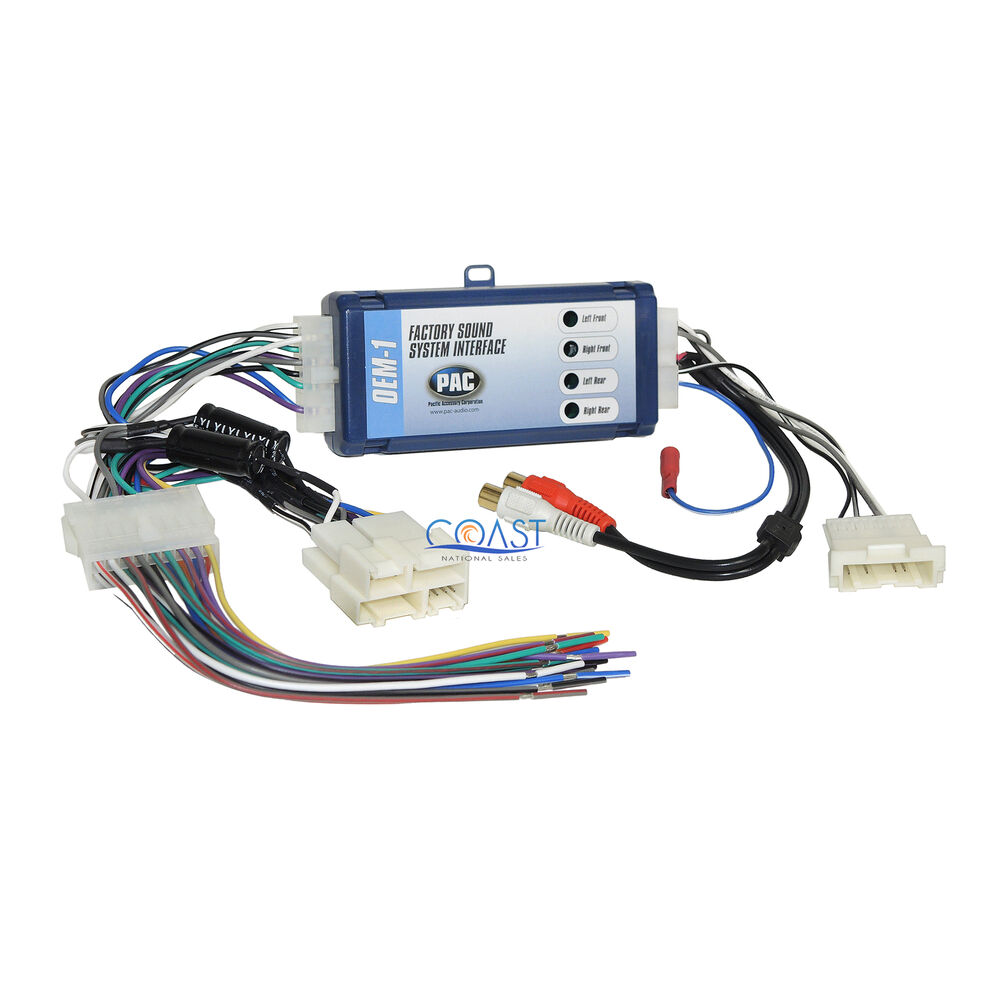 Car Factory Bose Aftermarket Radio Harness Interface For