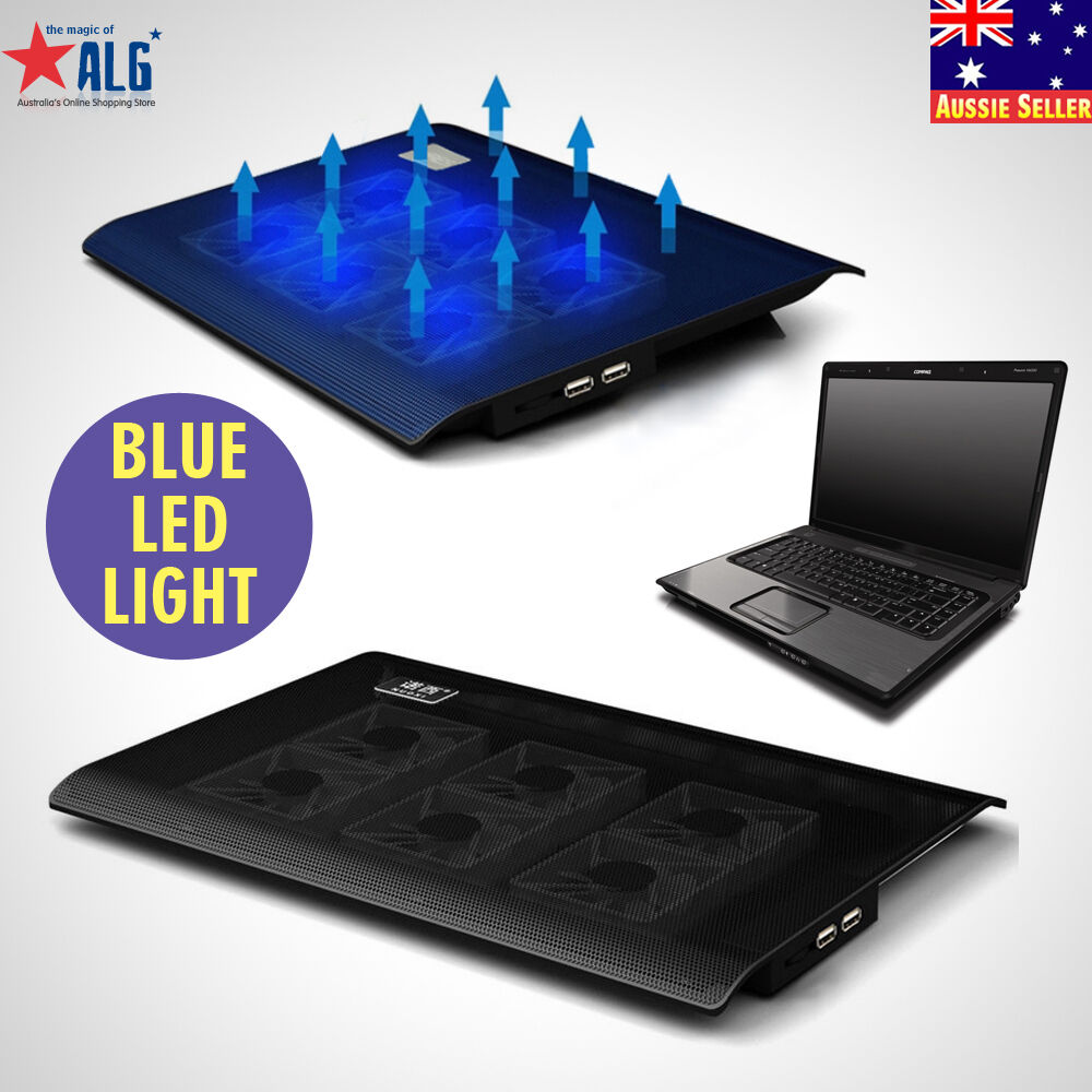 Ares N2 6 Fans Laptop Cooler Notebook Cooling Pad Stand Blue Led F 14 15 From Overheating Prolongs The Life Of Your Unique Design This Allows You To Position At An Ideal Angle