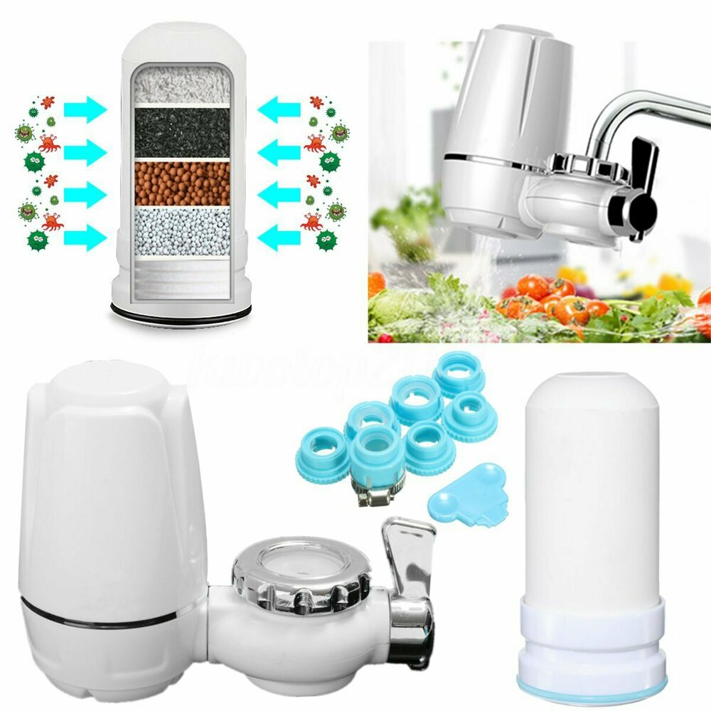Kitchen Tap Faucets Water Filter Mount Water Purifier