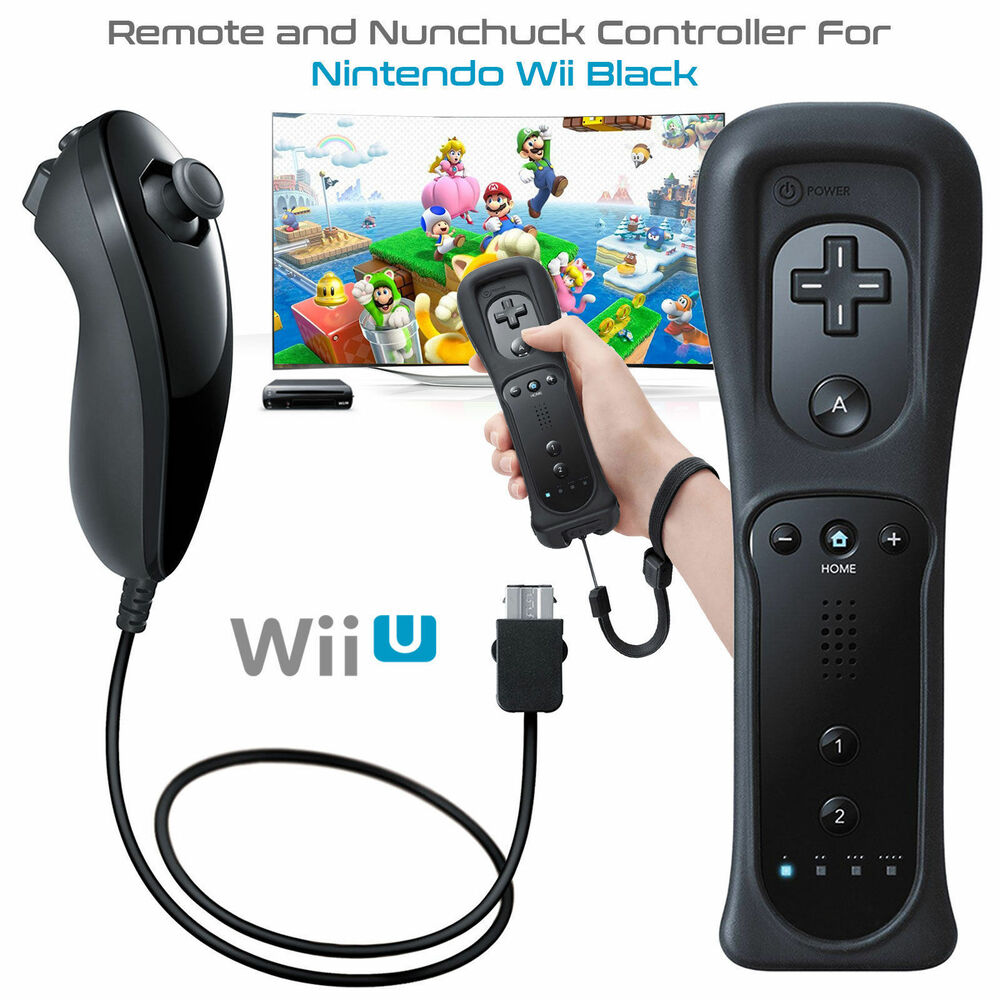 New Wii Controller And Nunchuck For Nintendo Wii & Wii U
