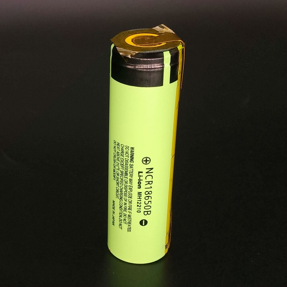 New Panasonic Ncr18650b 3400mah Rechargeable Li Ion