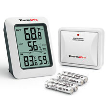 ThermoPro-TP60 Indoor Outdoor Digital Hygrometer Thermometer Temperature Meter