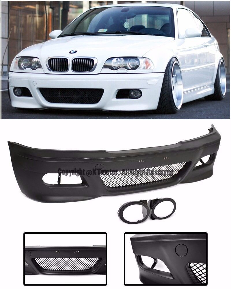 For 99 05 Bmw E46 Coupe 2dr M3 Style Front Bumper Cover