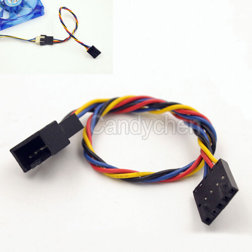 latch dedicated fan 5 pin to 4 pin adapter interface connector cable for dell ebay. Black Bedroom Furniture Sets. Home Design Ideas