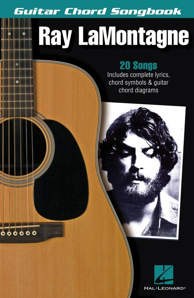 Ray Lamontagne Sheet Music Guitar Chord Songbook New 000130337