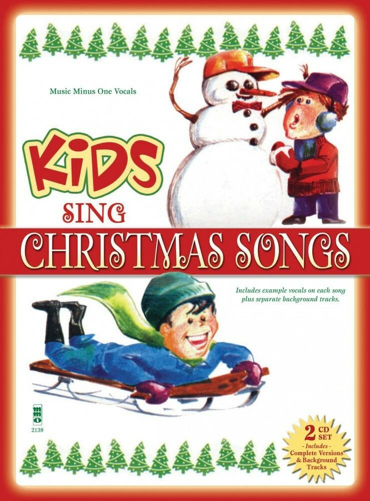 Kids Sing Christmas Songs Music Minus One Book and CD NEW 000141196 ...