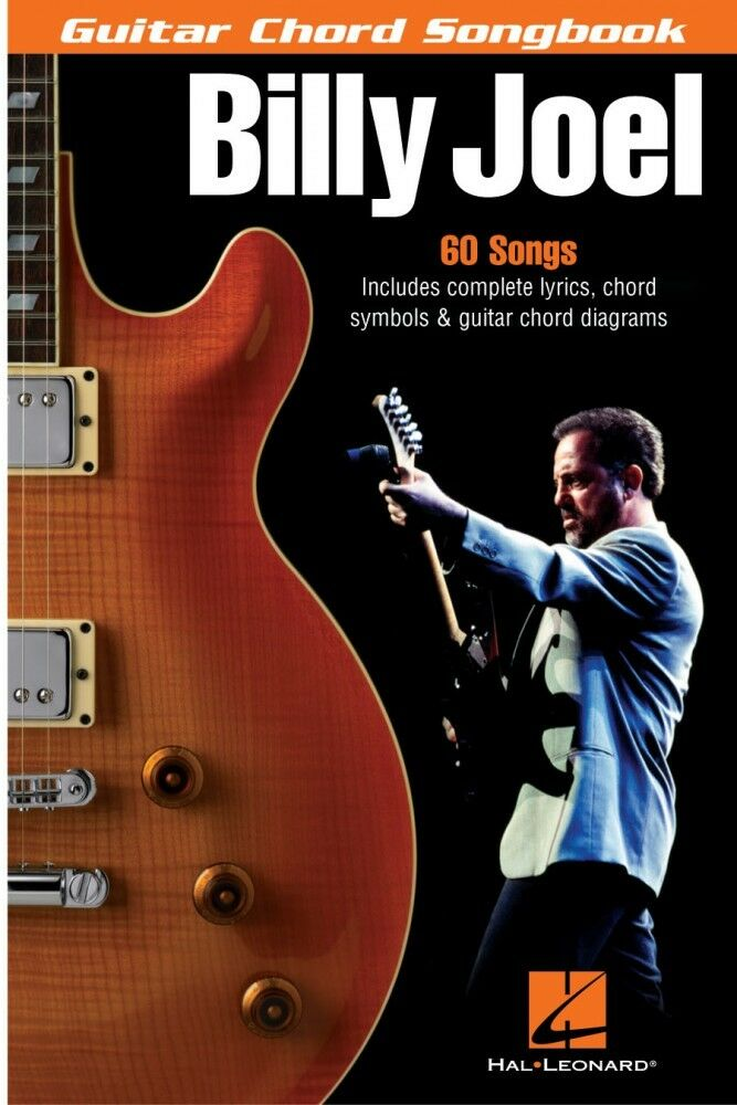 Billy Joel Guitar Chord Songbook Sheet Music 6in X 9in New 000699632