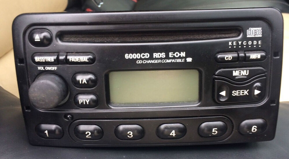 ford radio 6000 cd code unlock lost radio code 85p. Black Bedroom Furniture Sets. Home Design Ideas