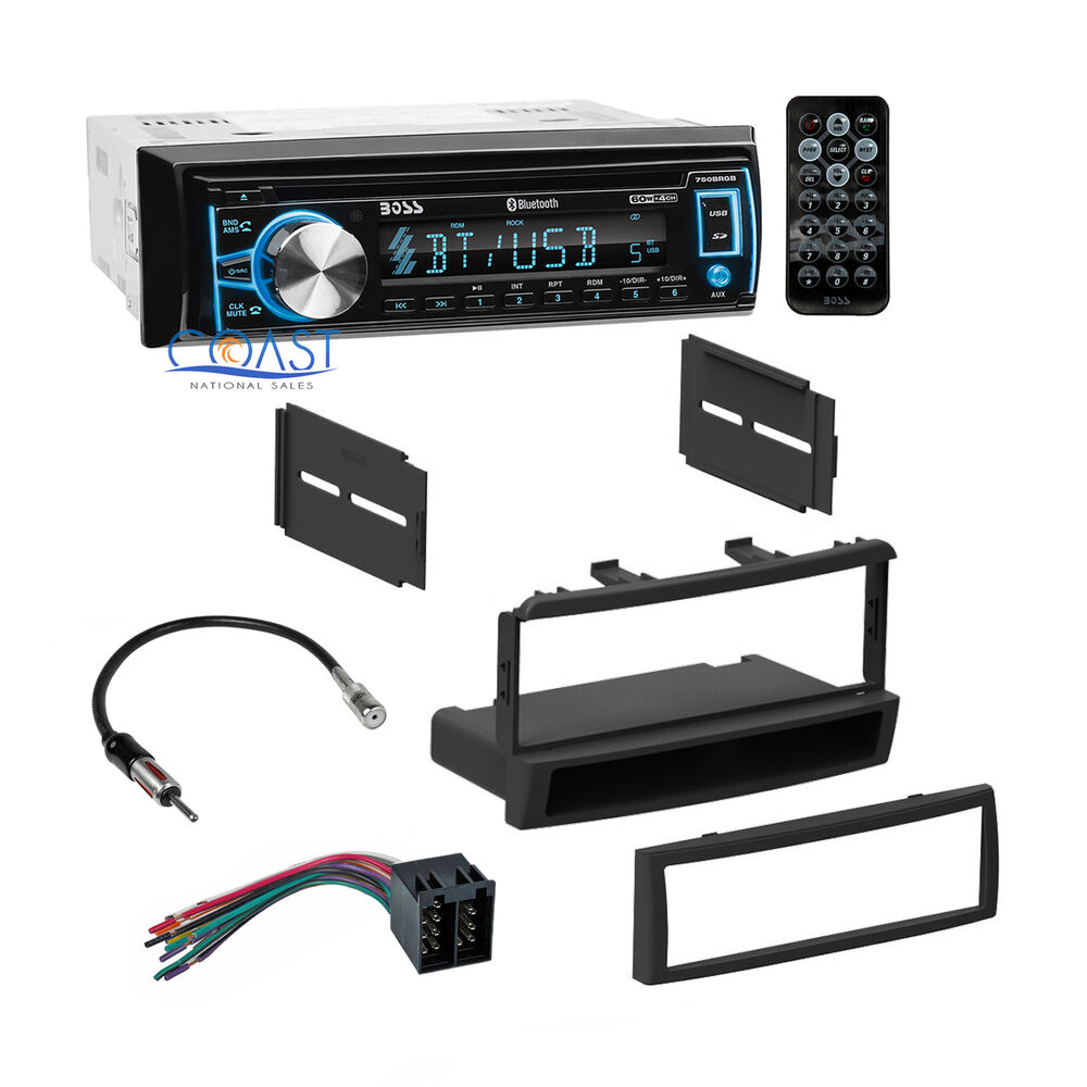 Boss Car Bluetooth Radio Stereo   Dash Kit Harness For 2000