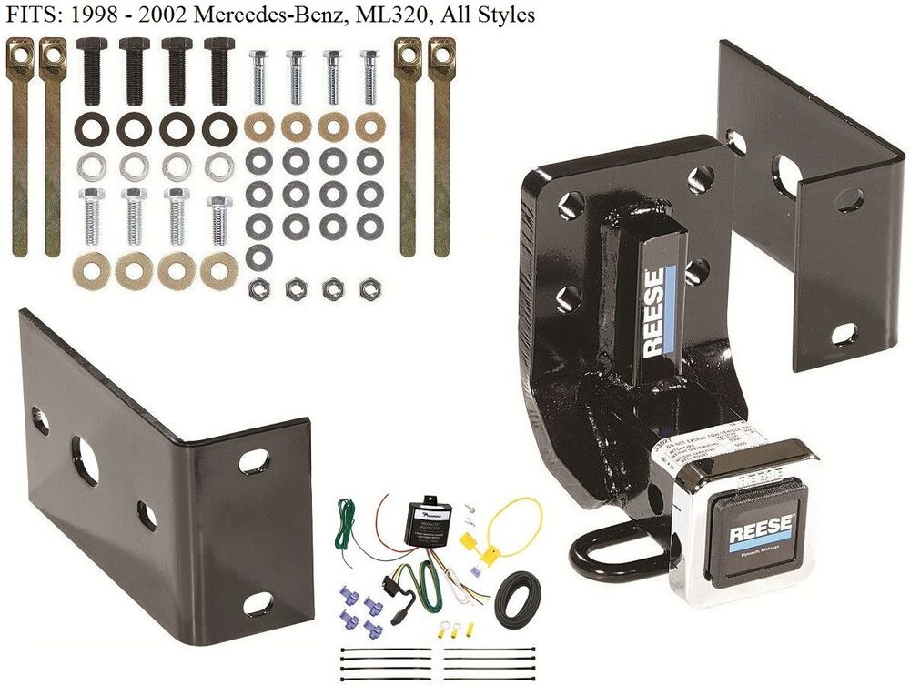 Trailer Hitch W   Wiring Kit For 1998