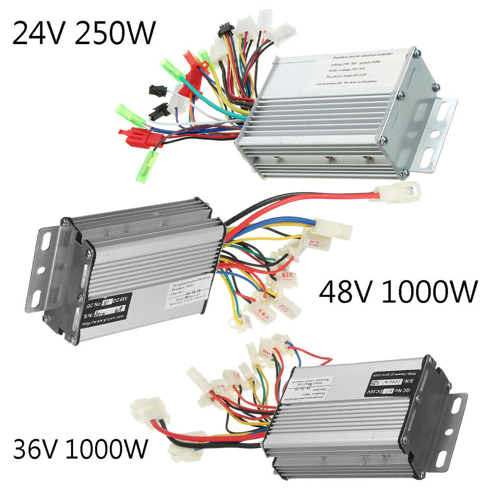 24v  36v  48v 250w  1000w Electric Scooter Speed Controller