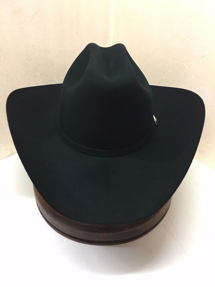 1d65f3109b2 Details about 10X STETSON HAT BEAVER FUR-SHASTA-BLACK-NEW W Tag-NO TAX  SELL+FREE SHIPPING!!