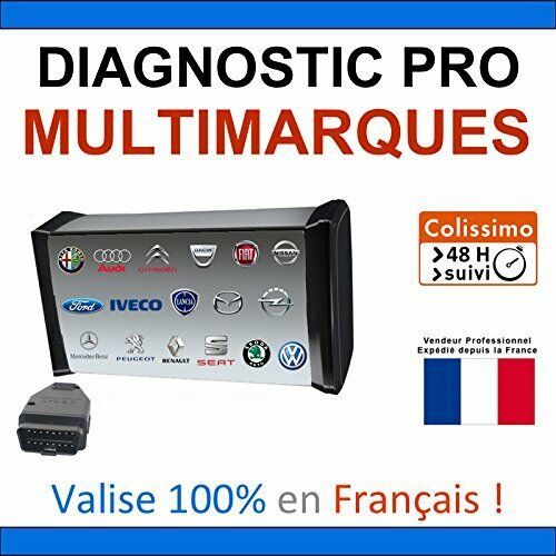 valise de diagnostic professionnelle mpm com maxiecu2 maxi ecu 2 ebay. Black Bedroom Furniture Sets. Home Design Ideas