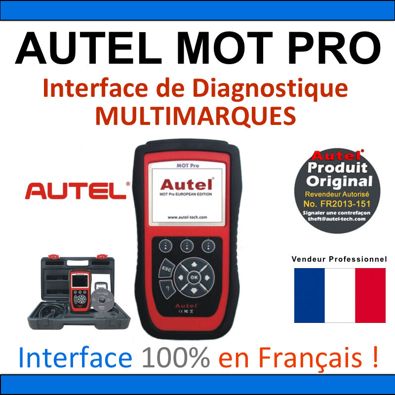 Autel Mot Pro Eu908 Scanner Multi Function Obd2 Diagnostic Tools Ebay