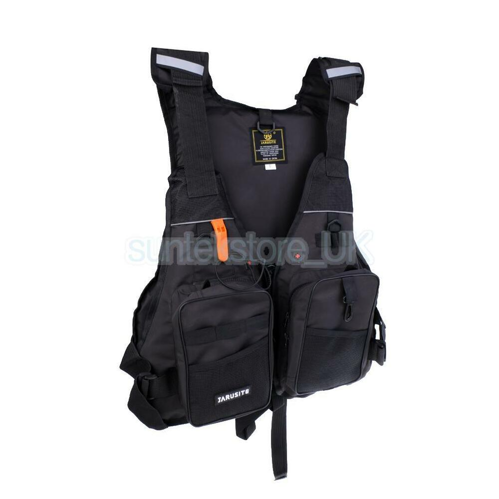 Kayak sailing life jacket buoyancy aid fishing boating for Kayak fishing vest