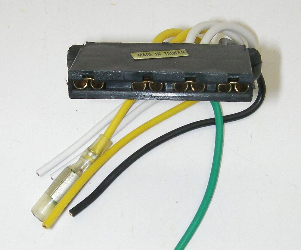 Parts Master 84010 6 Wire 4 Terminal External Voltage Regulator 1983 Lincoln Continental Wiring Diagram Connector Ford Ebay