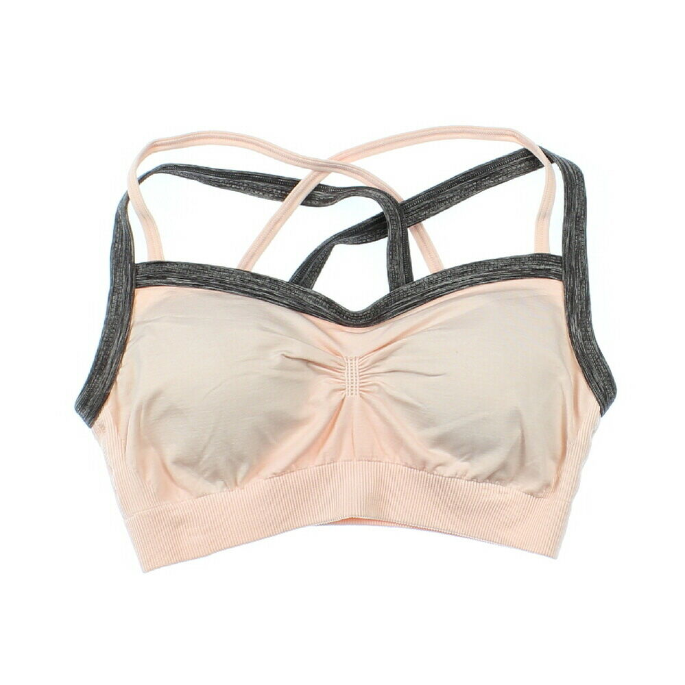 b6a1a29701c6c Details about CALIA by Carrie Underwood Womens Pink Seamless Crossback Sports  Bra Size Small