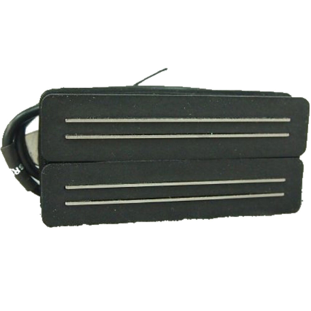 bare knuckle black hawk 7 string open bridge rail humbucker pickup black ebay. Black Bedroom Furniture Sets. Home Design Ideas