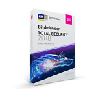 Bitdefender Total Security 2018 - 5 Devices, 1 Year (Key - Activation code)