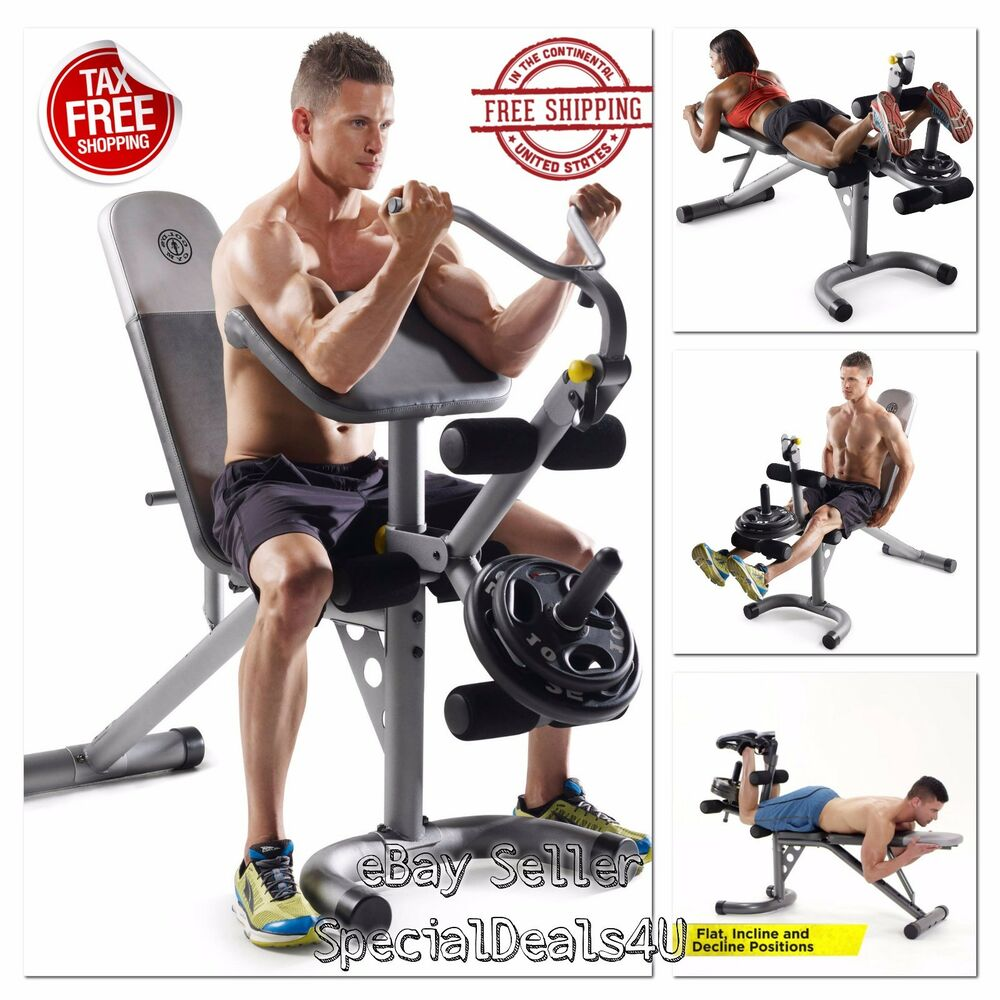 Workout bench weight home gym fitness exercise training