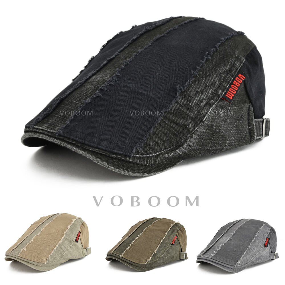 Details about VOBOOM Mens Solid Cotton Gatsby Cap Ivy Hat Golf Driving Flat Cabbie  Newsboy Cap 75f2e1727e17