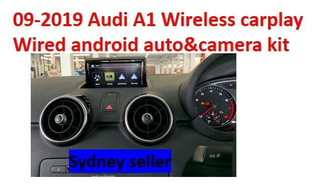 To Current Audi A Q Carplay With Reverse Camera Kit EBay - Audi car play