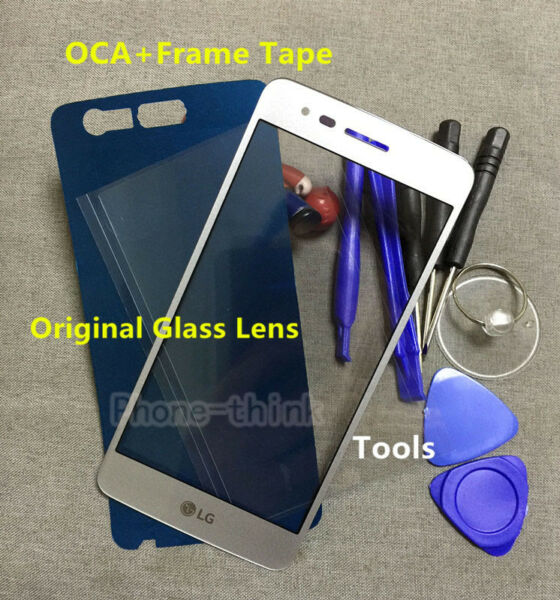 A++ Front Glass Screen Replacement For LG Aristo K8 2017 LV3 MS210 Phoenix 3+OCA