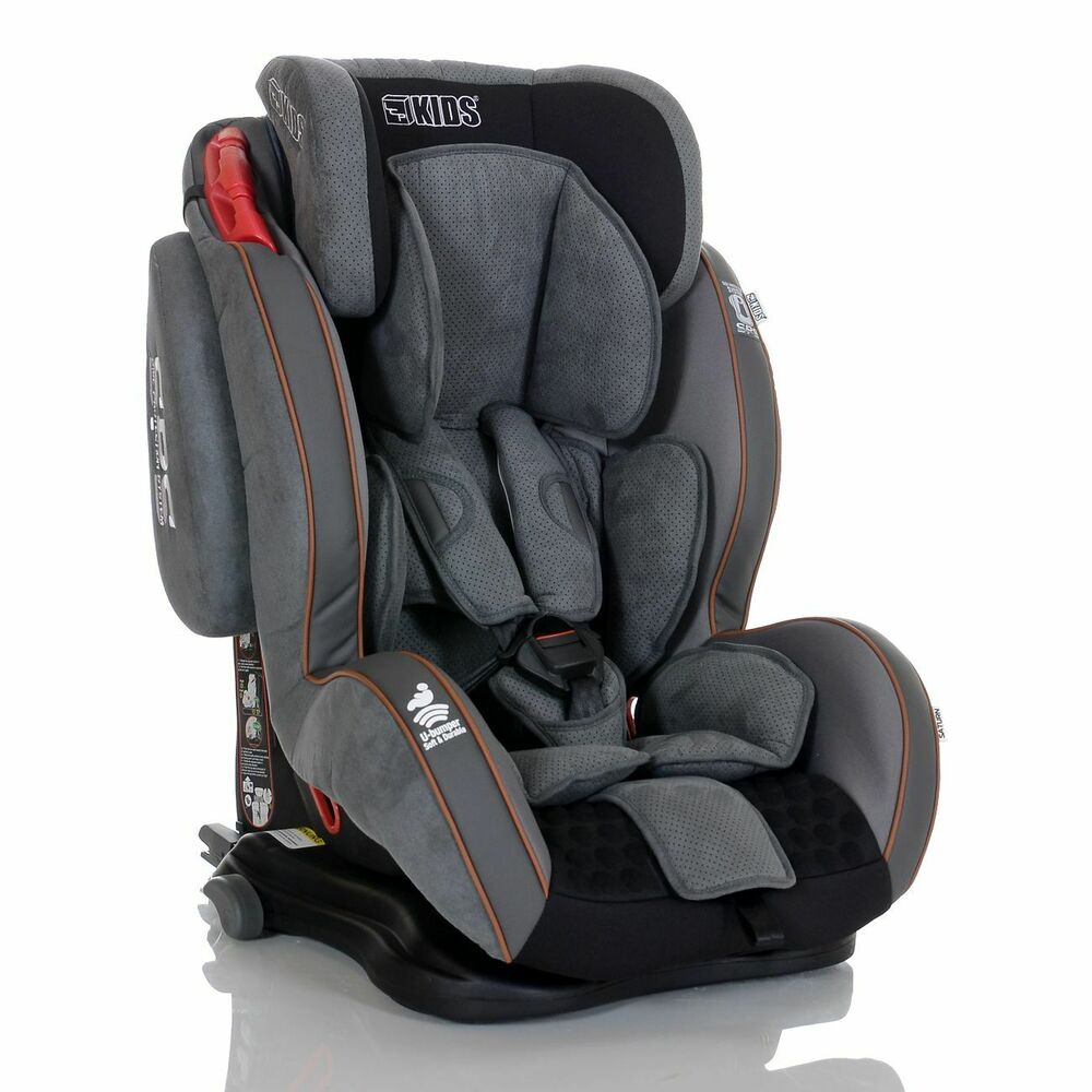 lcp kids auto kindersitz gt isofix 9 36 kg grau gruppe 1 2 3 schlafposition ebay. Black Bedroom Furniture Sets. Home Design Ideas