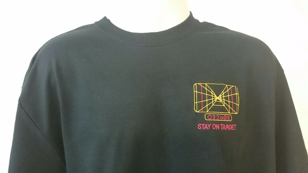 b5b92636a STAR WARS X-WING TARGETING COMPUTER STAY ON TARGET T-SHIRT | eBay