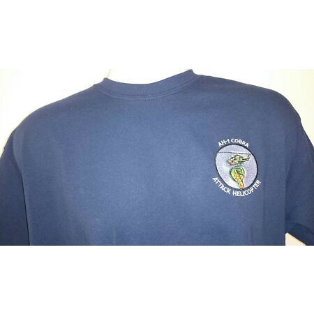 img-USAF UNITED STATES AIR FORCE AH-1 COBRA HELICOPTER T-SHIRT