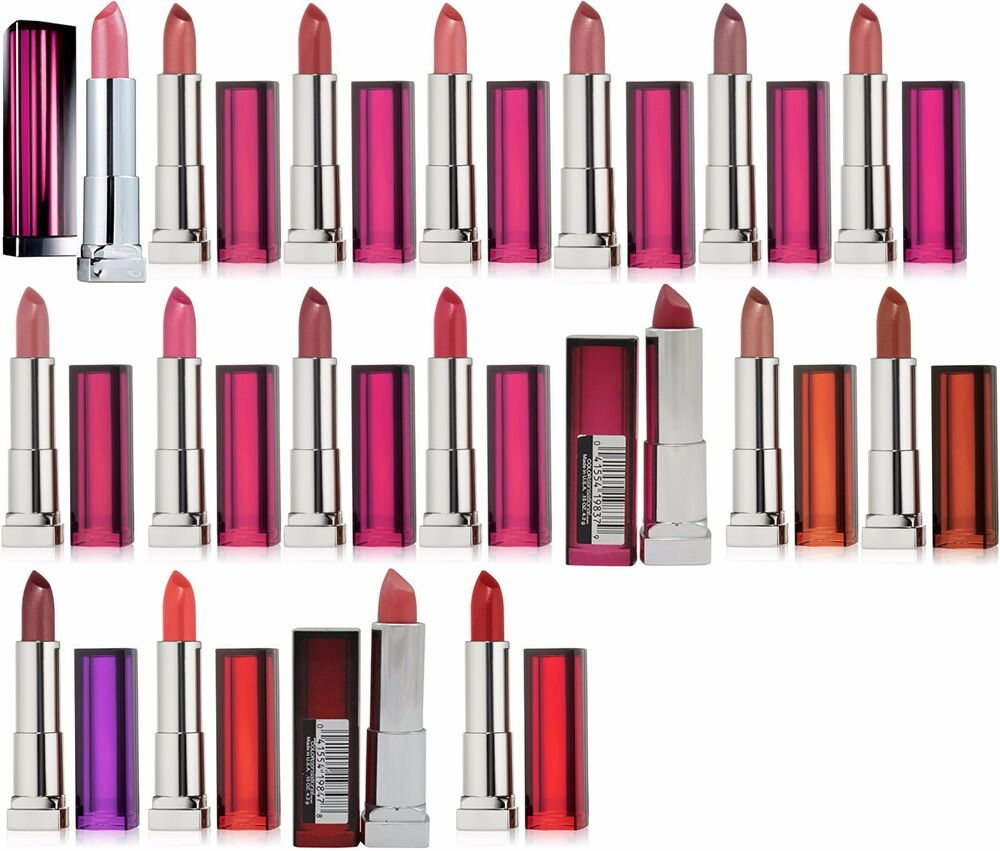 12 Sensational Schemes That Are: Maybelline New York Color Sensational Lipstick NEW Choose