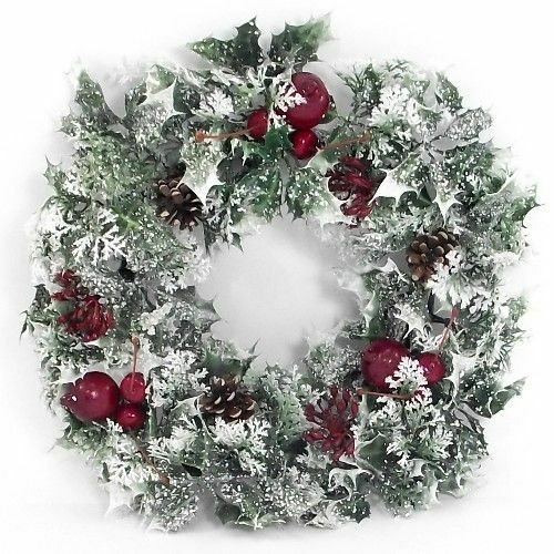 "18"" CHRISTMAS WREATH DECORATION/DOOR ARTIFICIAL WITH"