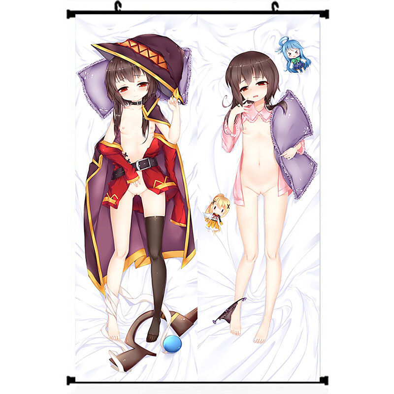 Details about KonoSuba Anime Poster Silk Sexy Girl Naked Wall Scroll  11.5x17.3 22.5x33.8 inch