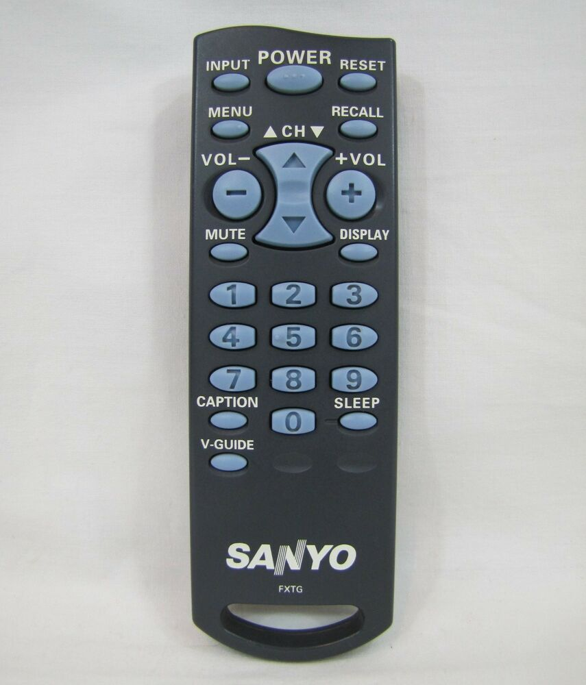 Sanyo FXTG TV Remote DS13204 DS13330 DS19204 DS19330