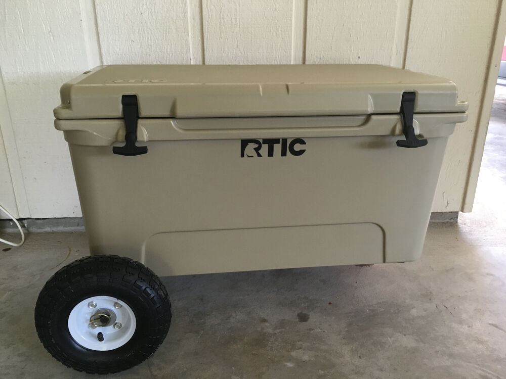 Chilly Wheelies Wheel Kit For Rtic 45 Qt Cooler Ebay