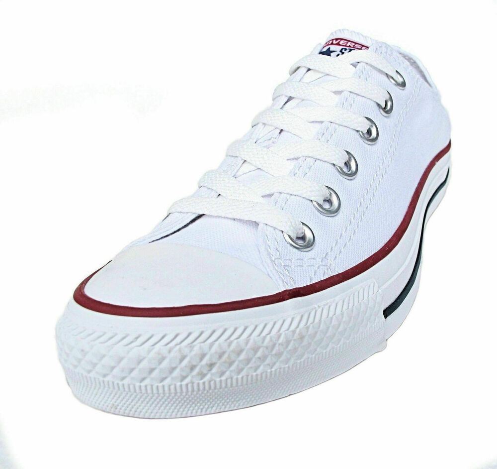 Converse All Star Low Tops Optical White OX Womens ...