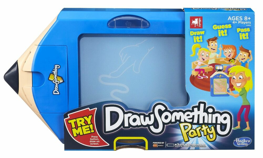 Draw Something Party Game Brand New Zynga Hasbro Draw And Guess For