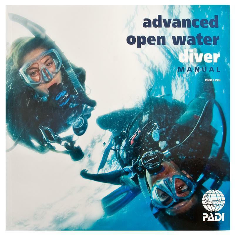 padi advance open water aow book manual with data carrier 70139 rh ebay com padi open water diver manual français Padi Open Water Certification