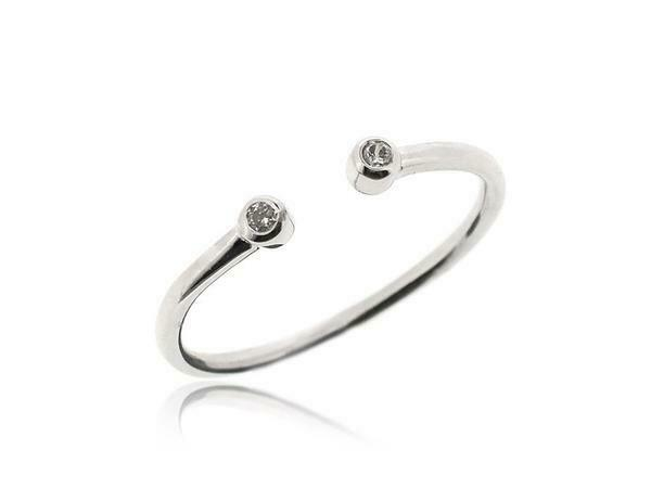925 Sterling Silver Open Adjustable Ring Everyday