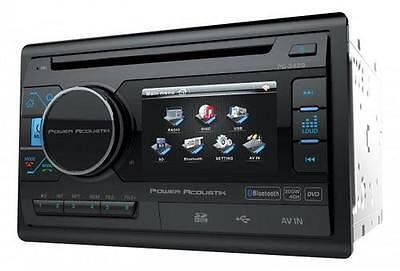 NEW Power Acoustik PD-342B 2-DIN DVD, CD/MP3, USB/SD, AM/FM Receiver w/ Bluetoot