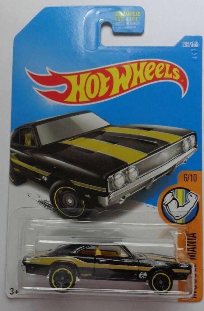 69 Charger: 2017 Hot Wheels MUSCLE MANIA 8/10 '69 Dodge Charger 500