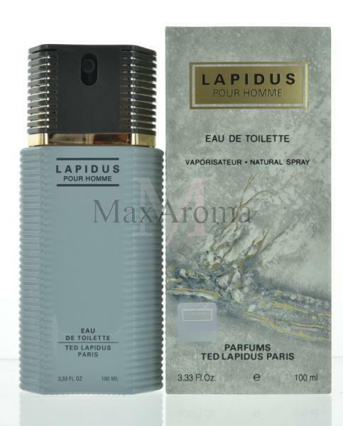 Lapidus By Ted Lapidus Pour Homme Eau De Toilette 33 Oz For Men New