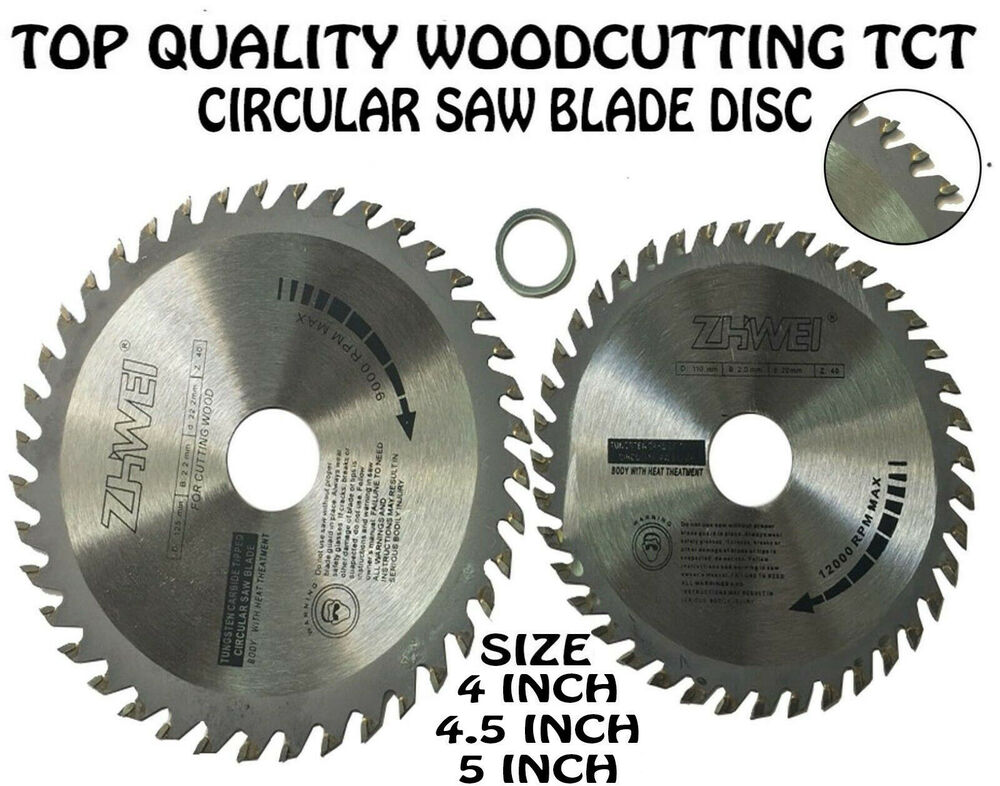 125mm or 110 mm x 40 teeth top quality wood cutting tct circular saw 125mm or 110 mm x 40 teeth top quality wood cutting tct circular saw blade disc ebay greentooth Gallery