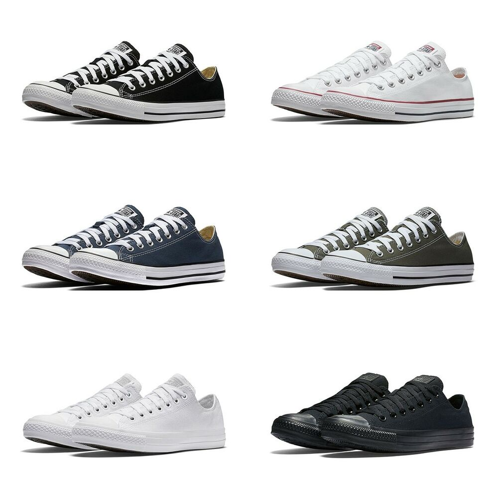 c27cc410e050 Details about New Converse Chuck Taylor All Star Low Top Sneakers Original  Canvas Shoes Men